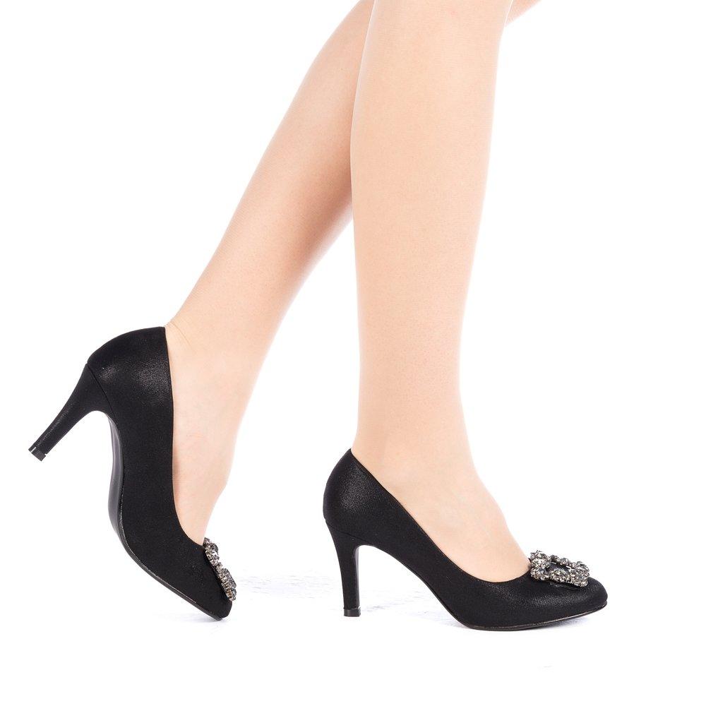 Pantofi dama Ahalia negri