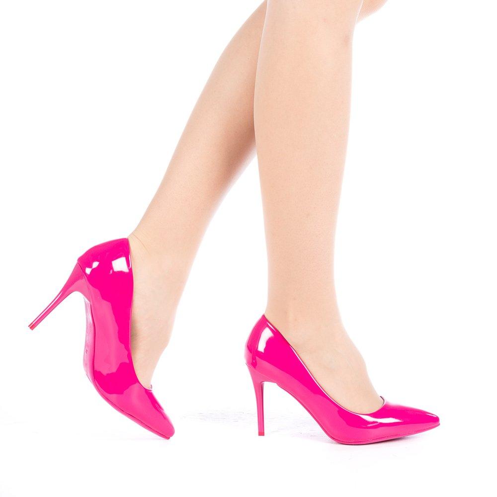 Pantofi dama Elante mov