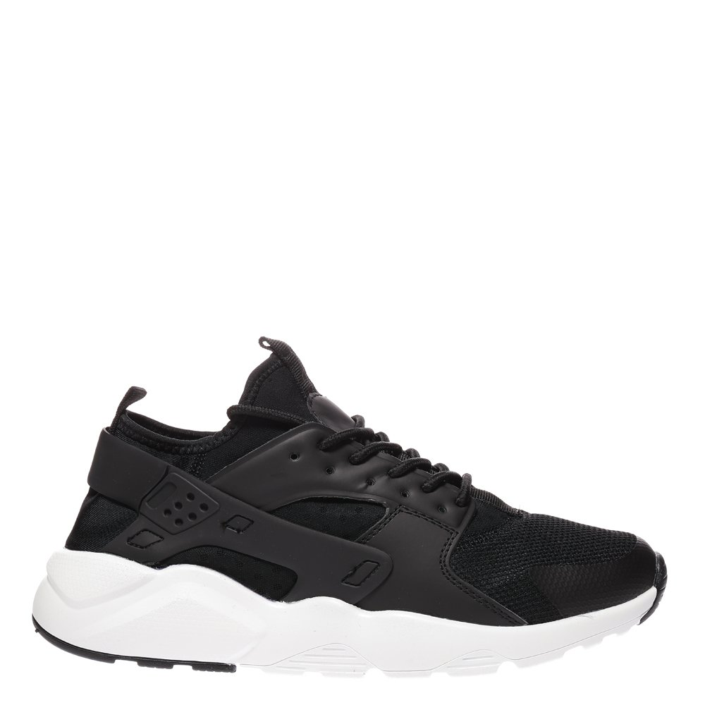 Pantofi sport barbati Iustin negri cu alb
