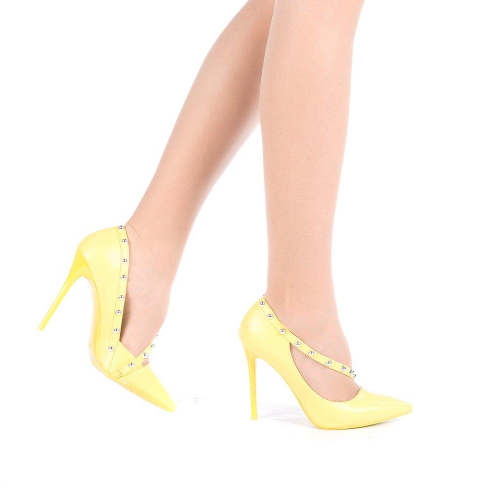 Pantofi dama Solas galbeni