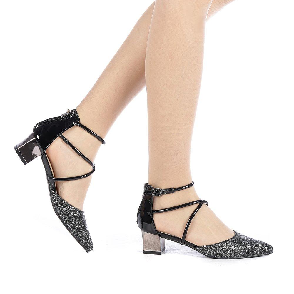 Pantofi dama Glodis negri