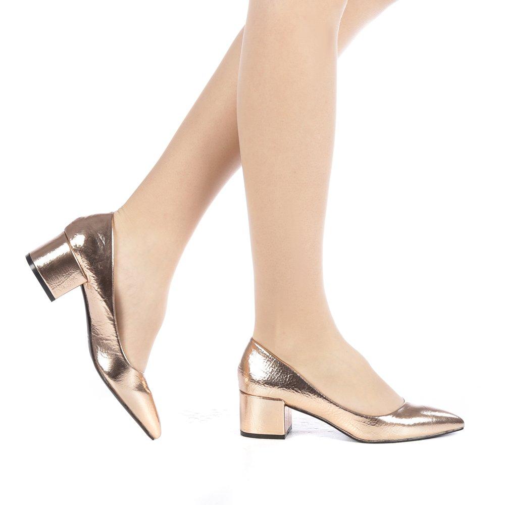 Pantofi dama Adeona aurii