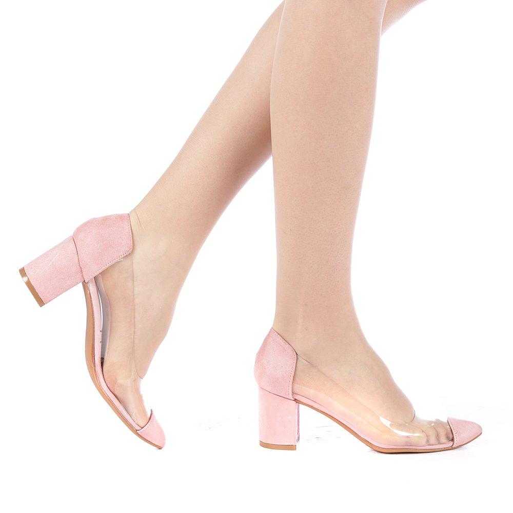 Pantofi dama Anesta roz