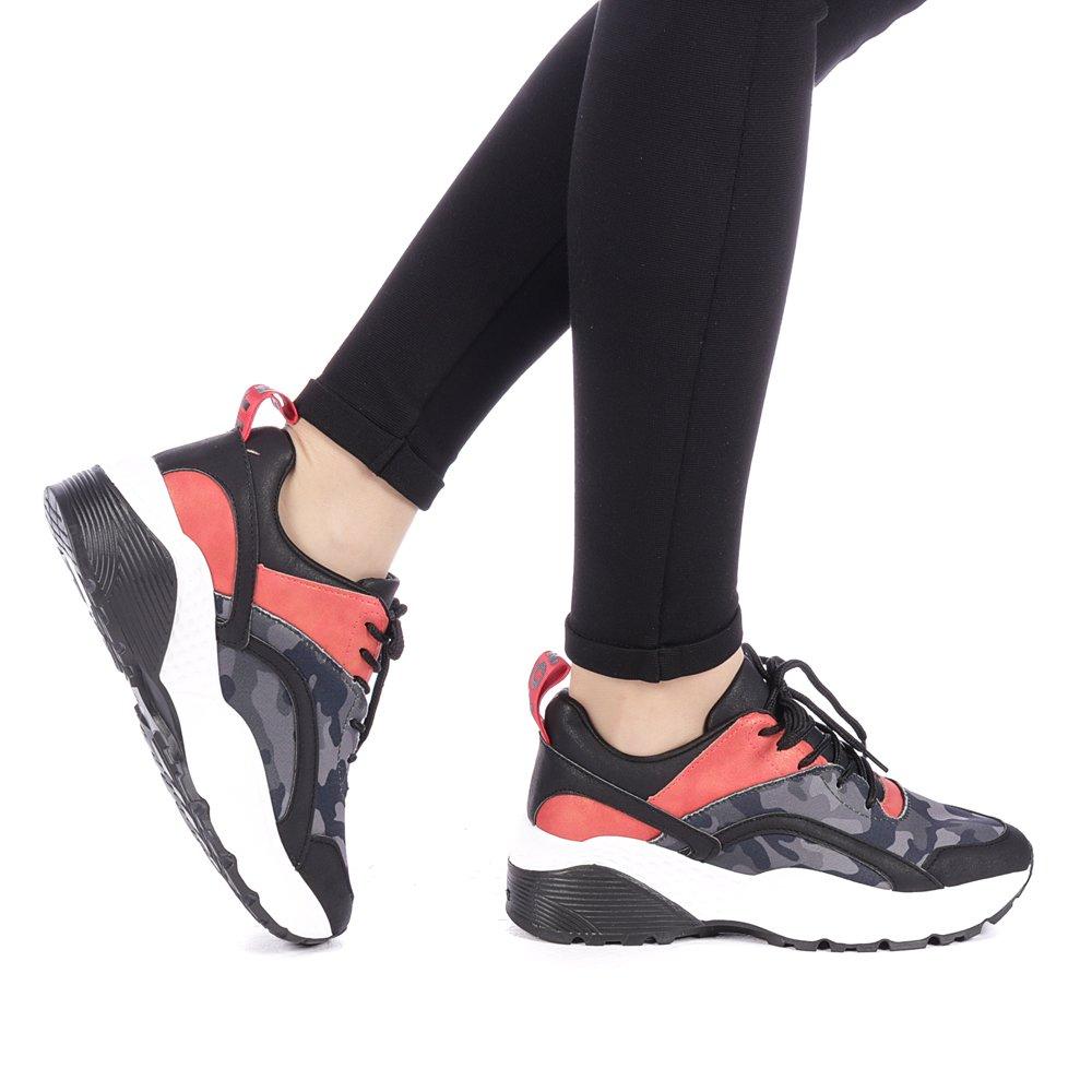 Pantofi sport dama Olivieria negri