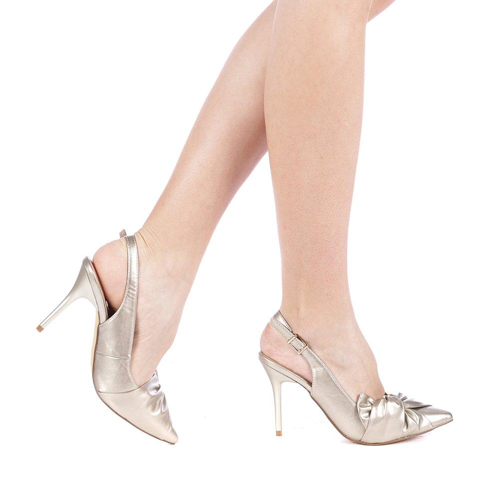 Pantofi dama Moli aurii