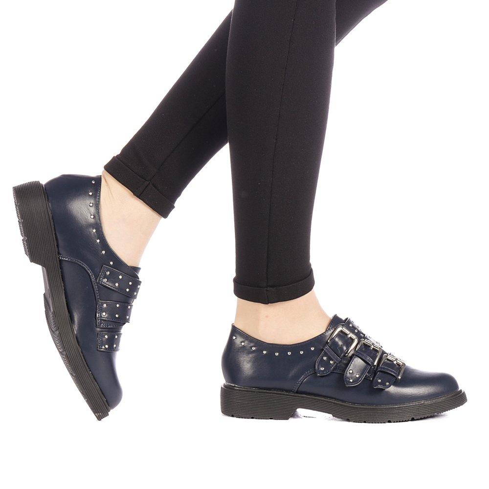 Pantofi dama Revera albastri