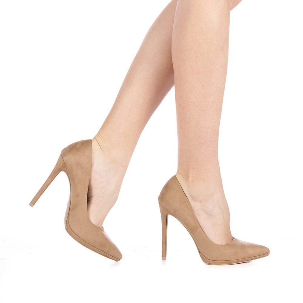 Pantofi dama Masino khaki