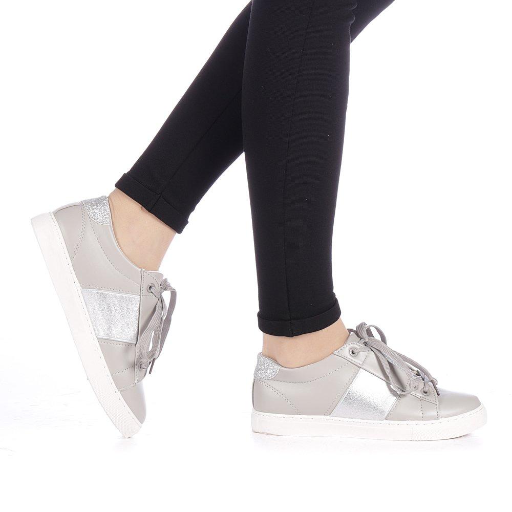 Pantofi Sport Dama Petna Gri