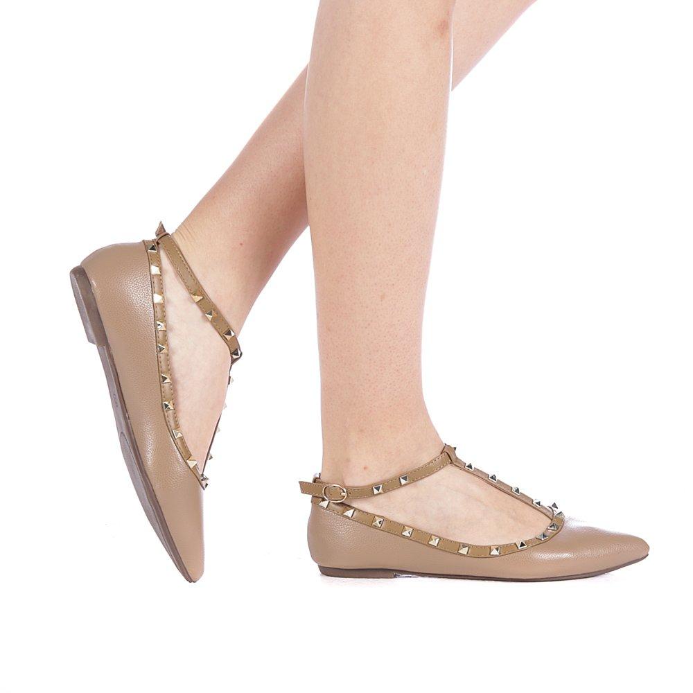 Balerini dama Girra khaki kaki