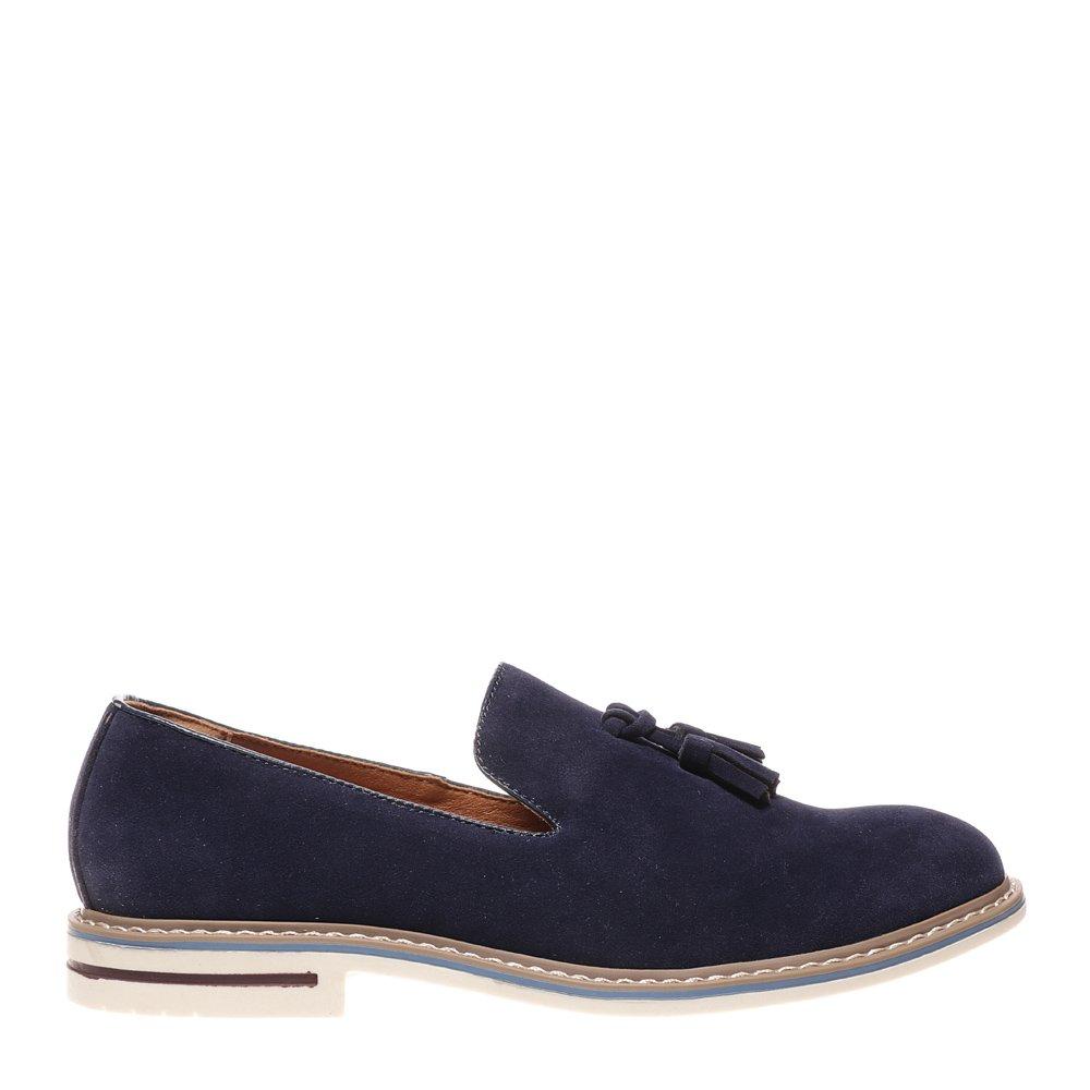 Pantofi barbati Bergamo albastri