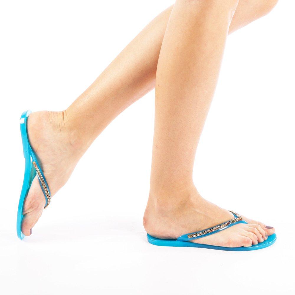 Papuci dama Gemina verde inchis