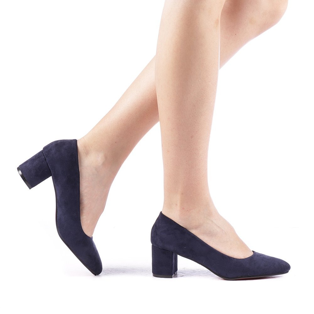 Pantofi dama Finis albastri