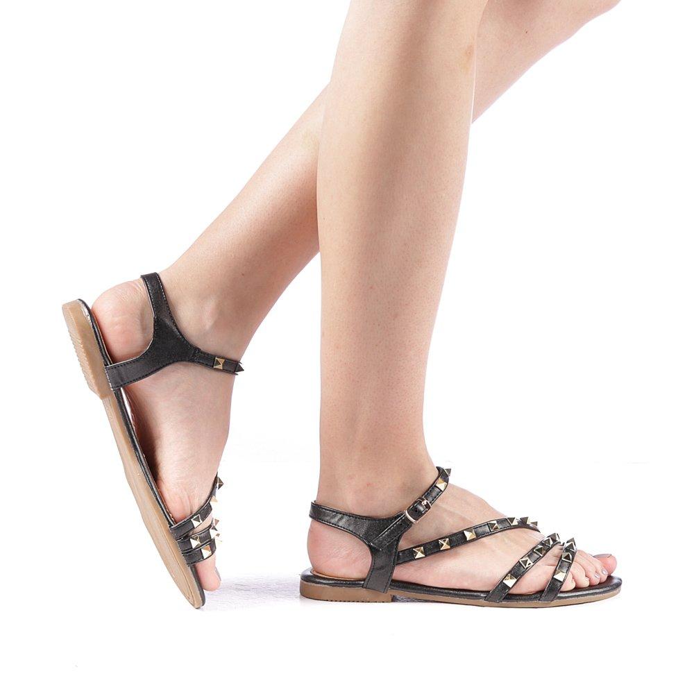 Sandale dama Biemo negre