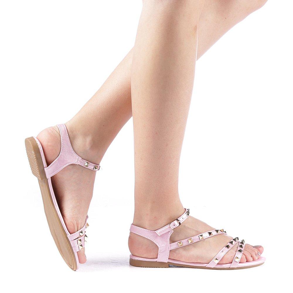 Sandale dama Biemo roz