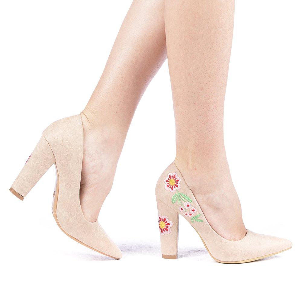 Pantofi dama Florezy bej