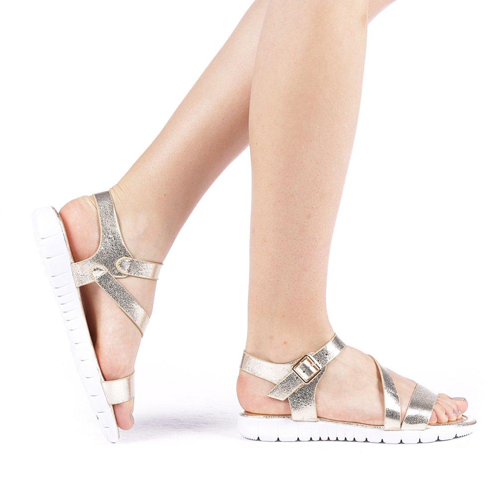 Sandale dama Jesynol aurii