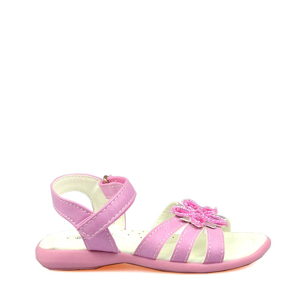 Sandale roz pentru copii Laurence
