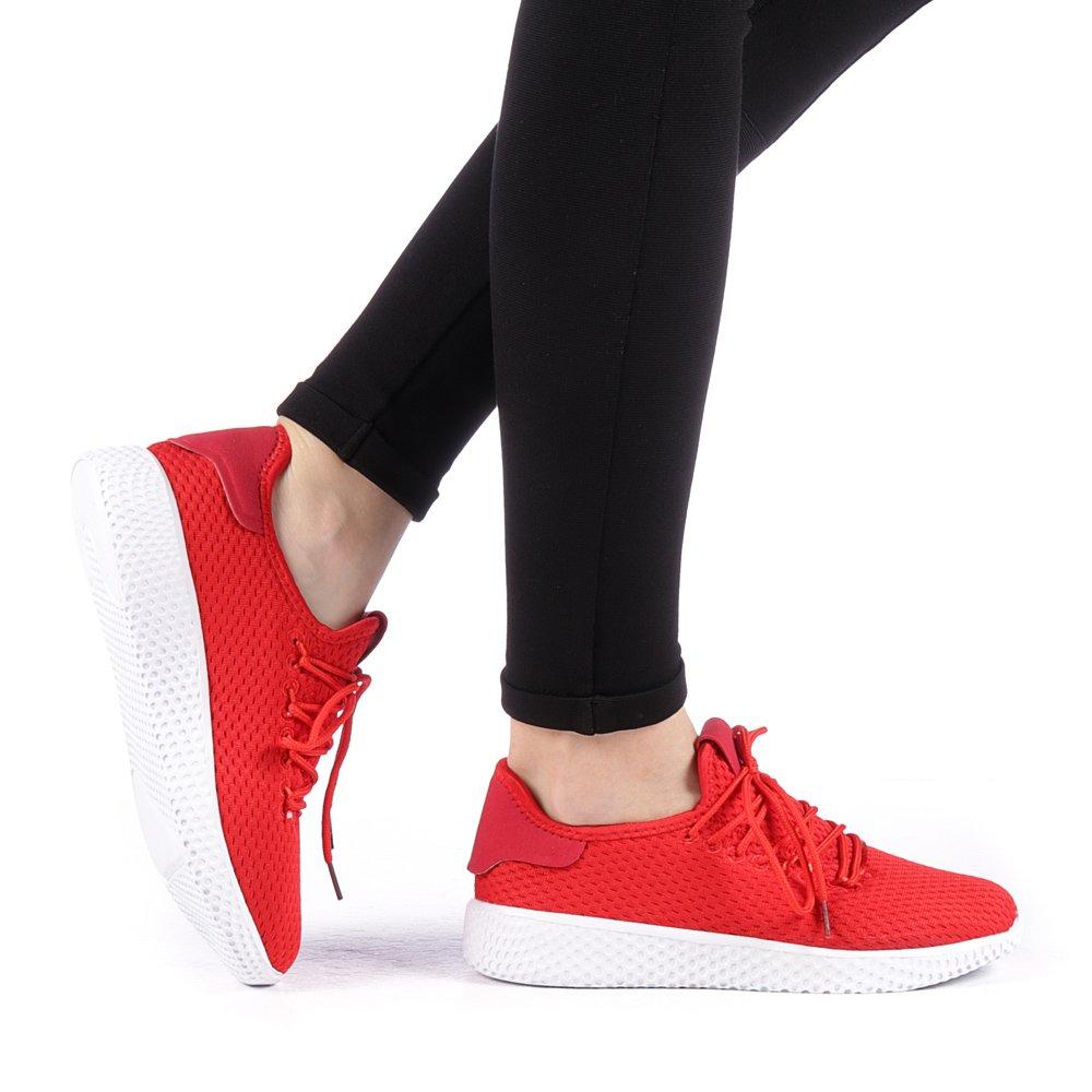 Pantofi sport dama Betina rosii