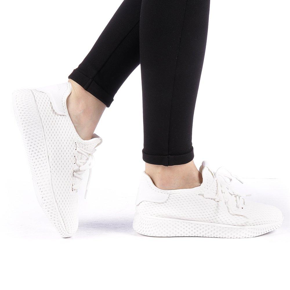 Pantofi sport dama Betina albi