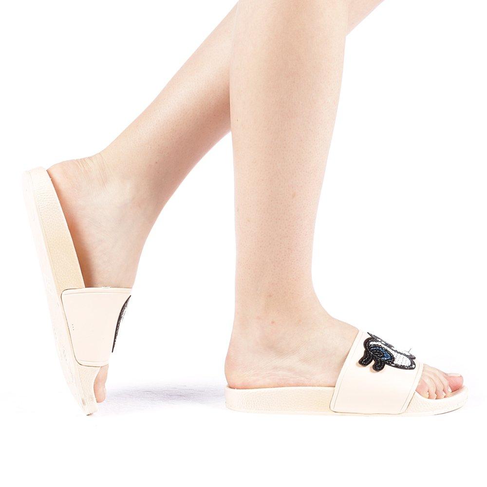 Papuci dama Terace champanie