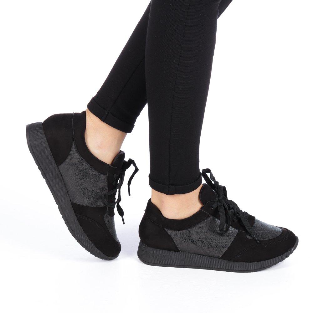 Pantofi sport dama Agnes negri