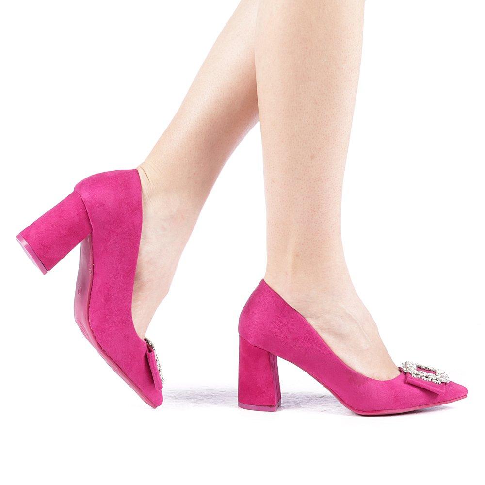 Pantofi dama Ladama fuchsia