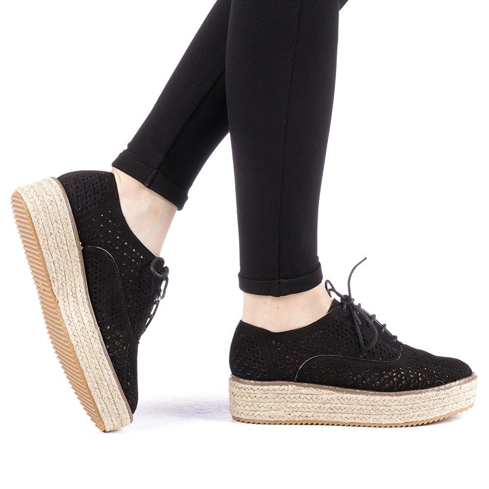 Pantofi dama Direna negri