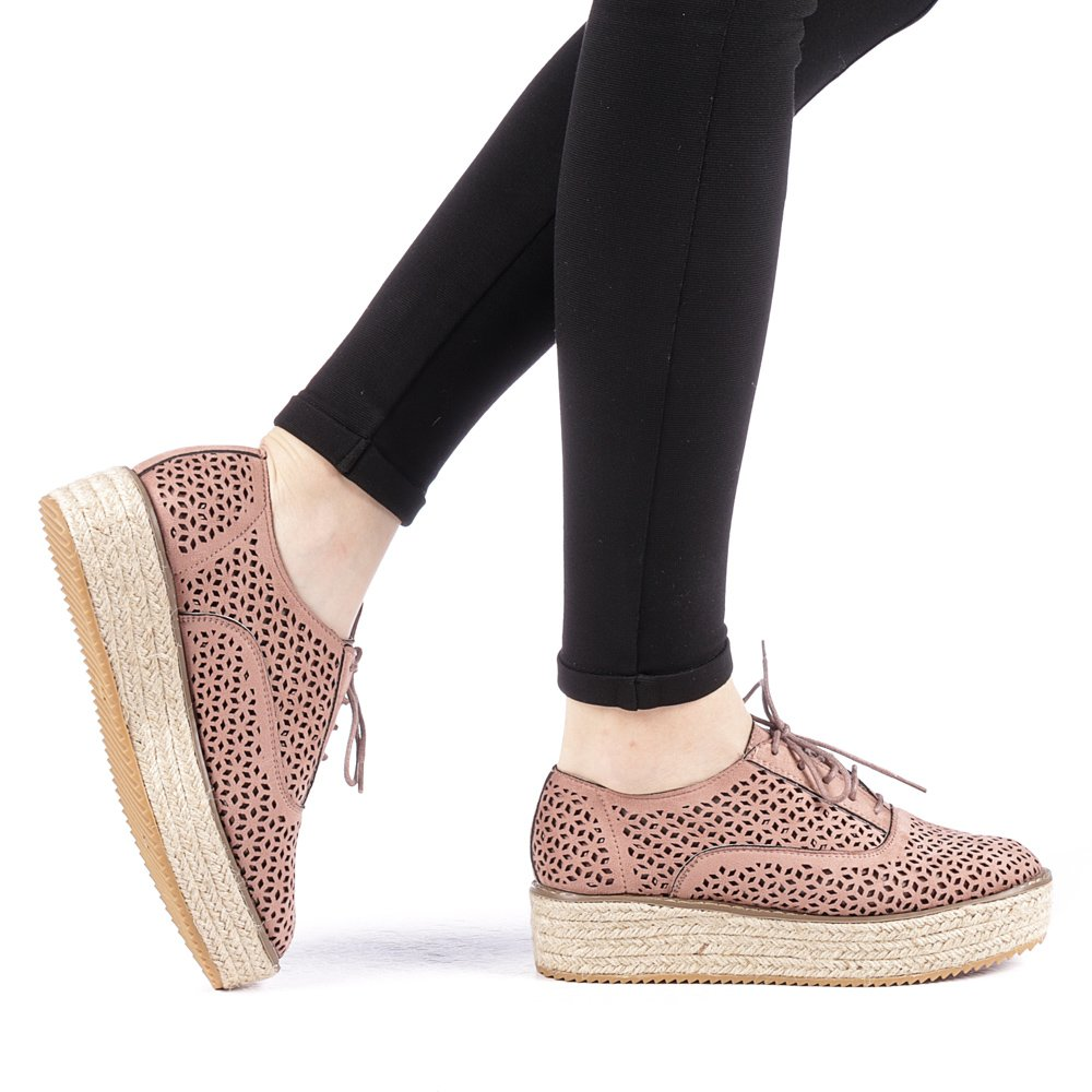 Pantofi dama Direna roz