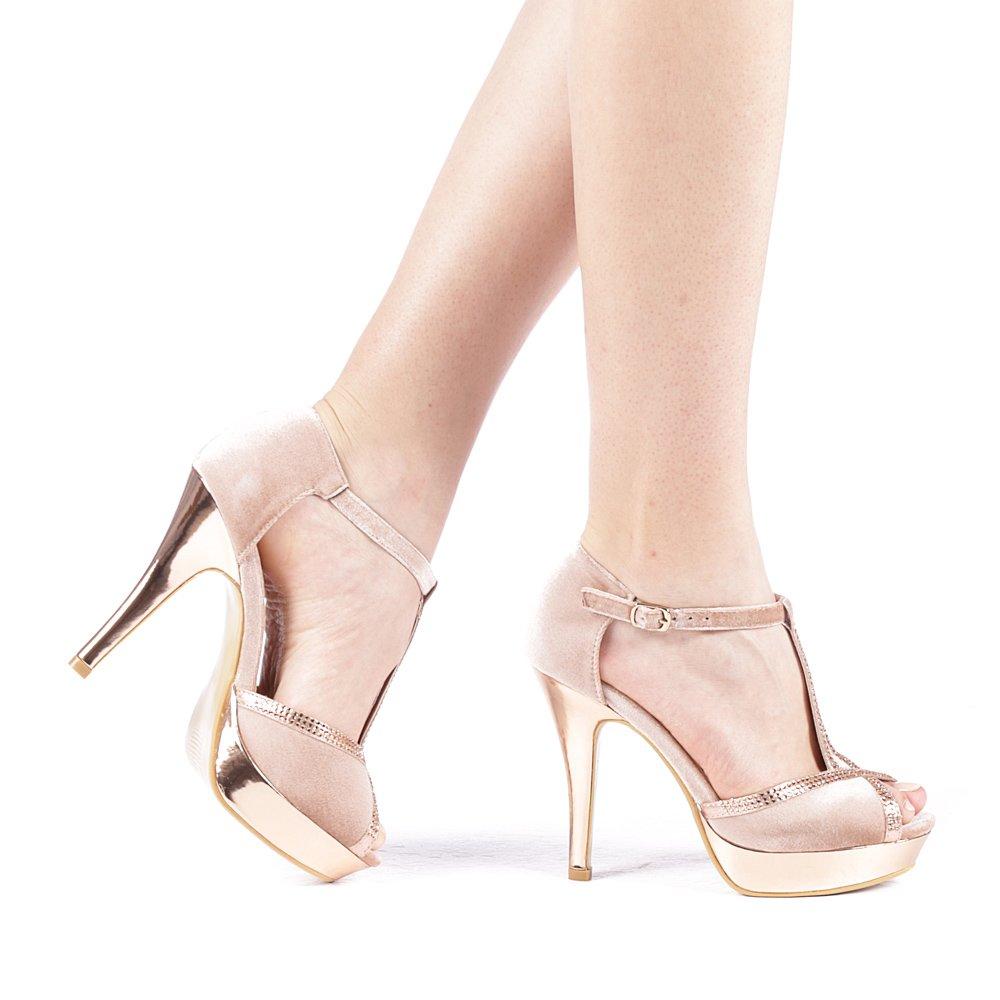Sandale dama Grimila roz