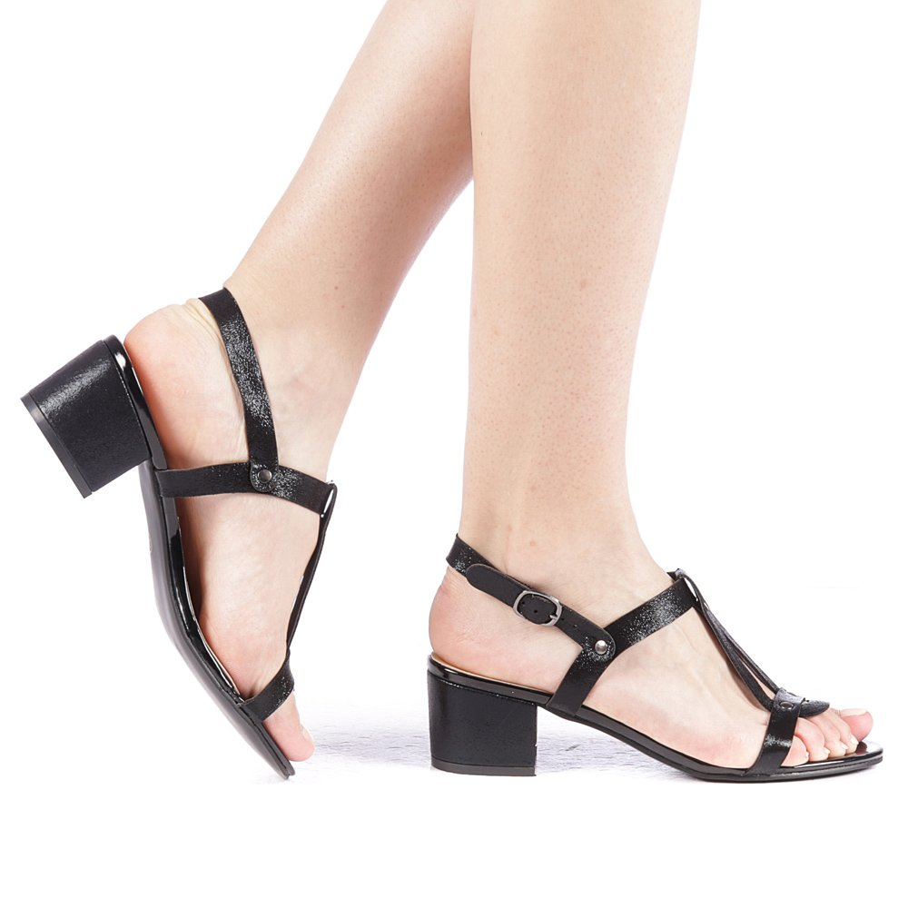 Sandale dama Klasia negre