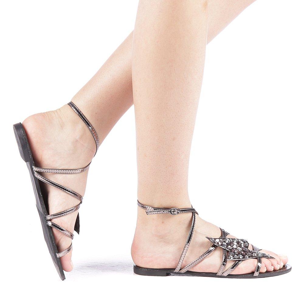 Sandale dama Grigiona gri