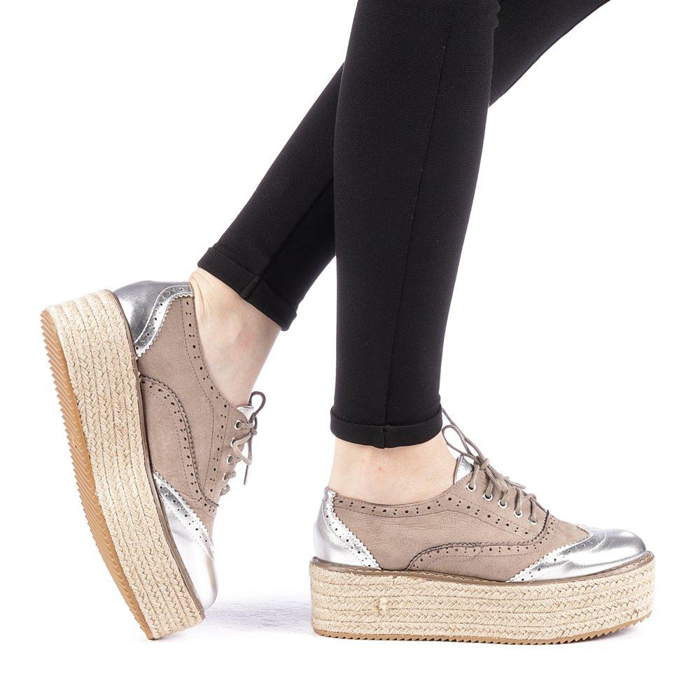 Pantofi dama Jumira gri