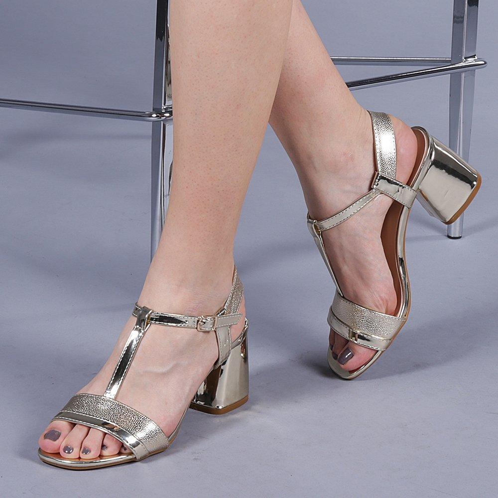 Sandale Dama Celestina Aurii