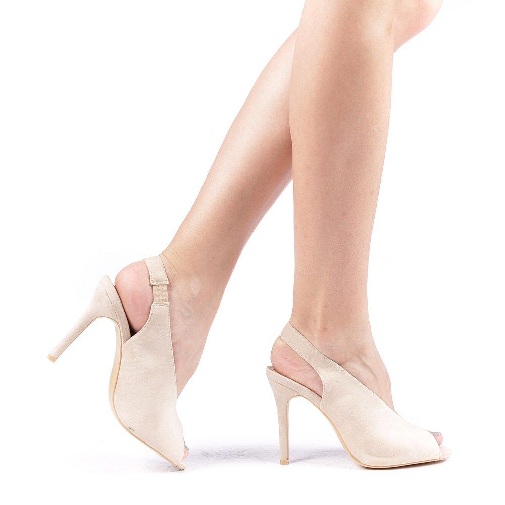 Sandale Dama Slimi Bej