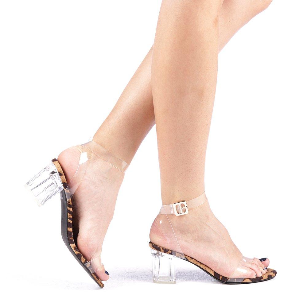 Sandale Dama Demma Leopard