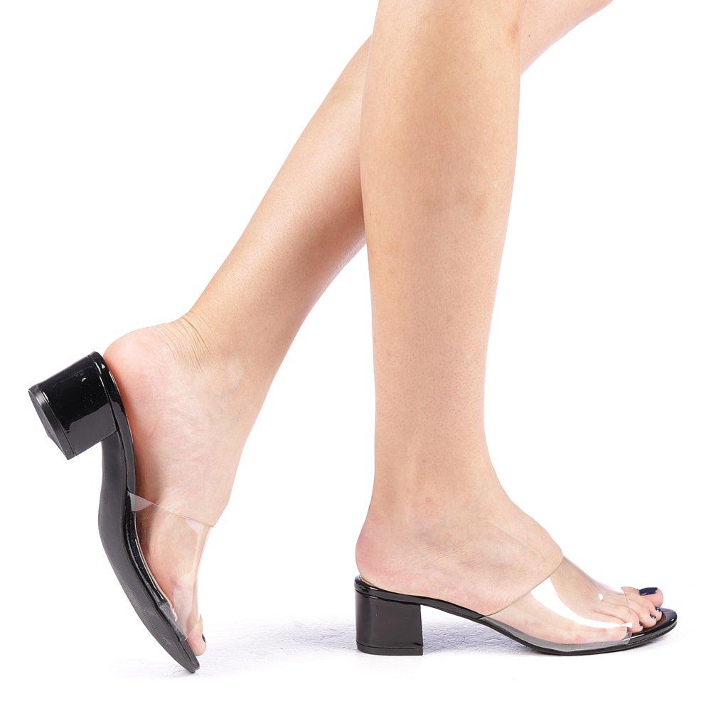 Papuci dama Amika negri