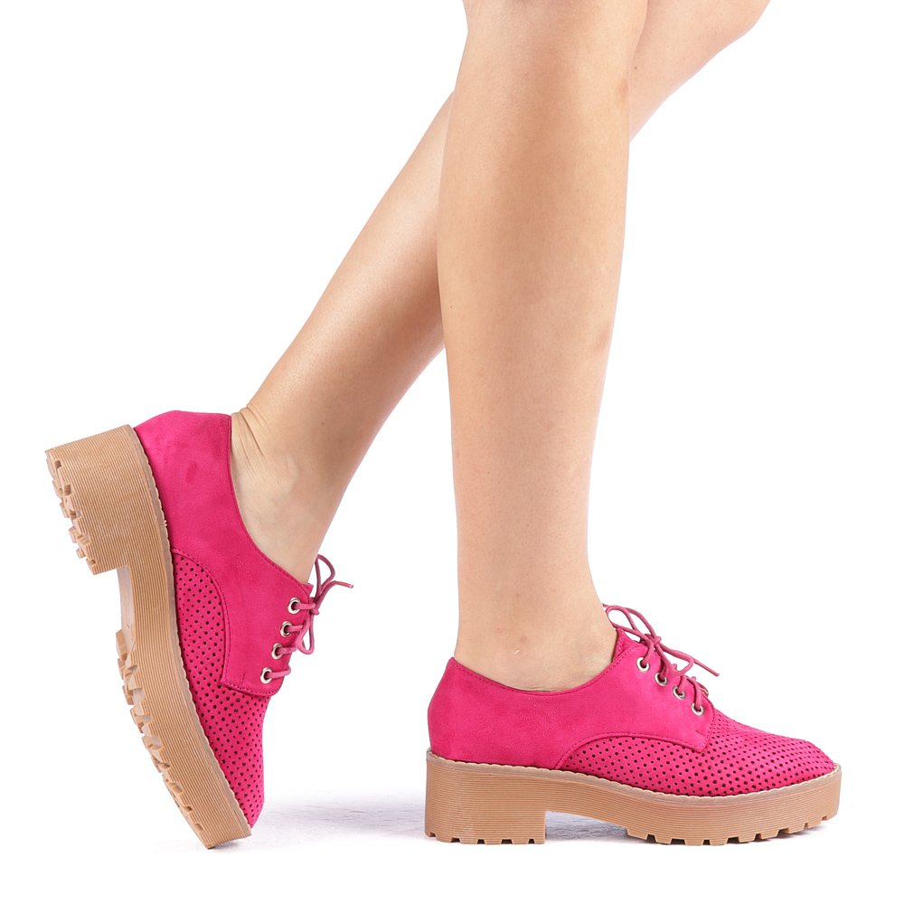 Pantofi dama Renata fuchsia