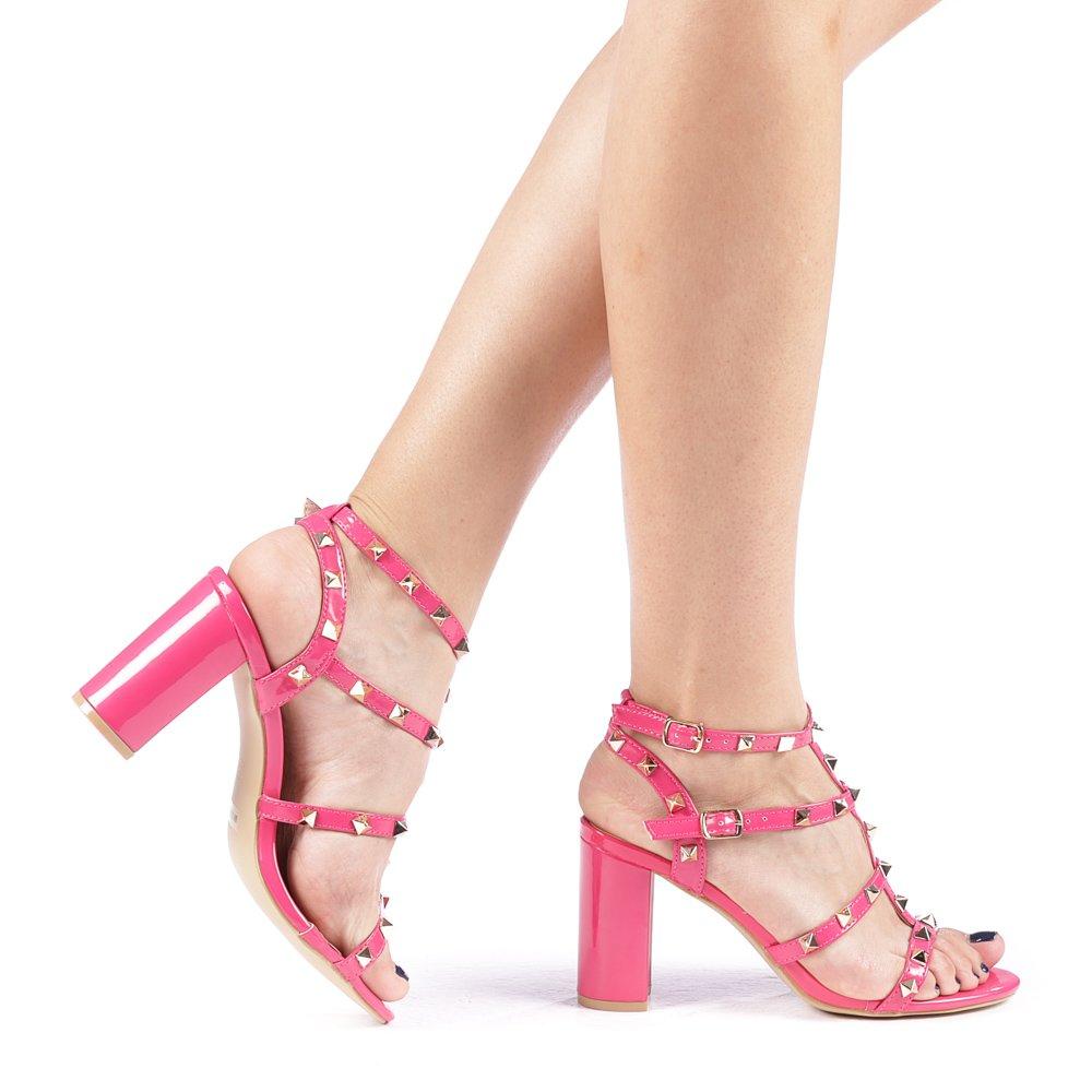 Sandale dama Clementa fuchsia