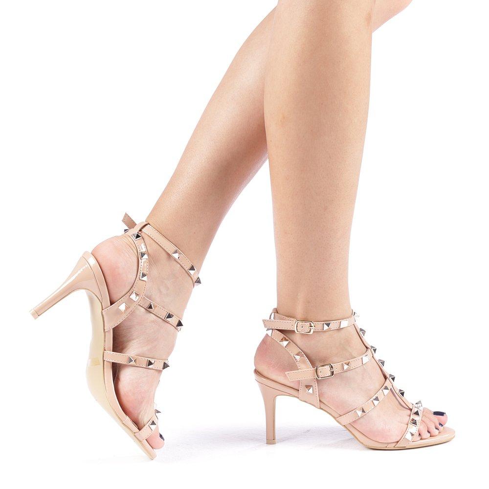 Sandale dama Silvia nude