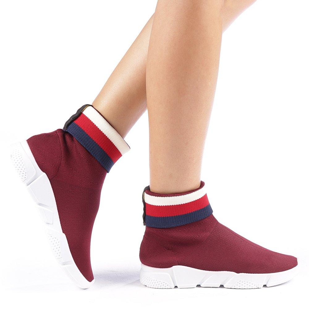 Pantofi sport dama Fidelma grena