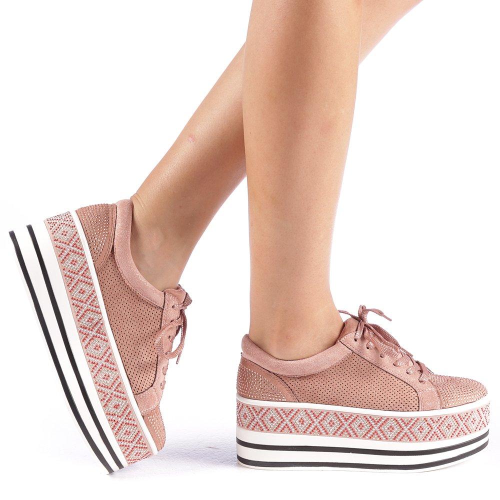 Pantofi sport dama Feodora negri