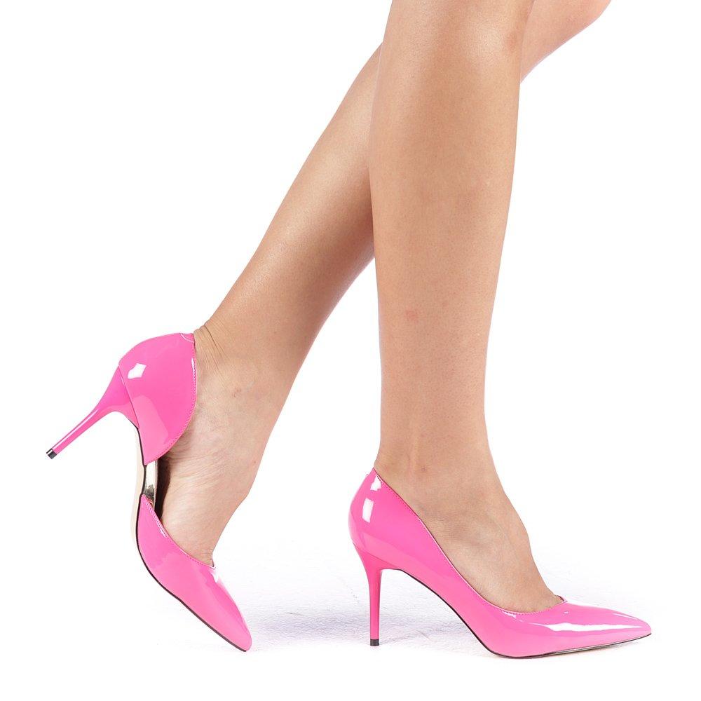 Pantofi Dama Nicola Fuchsia