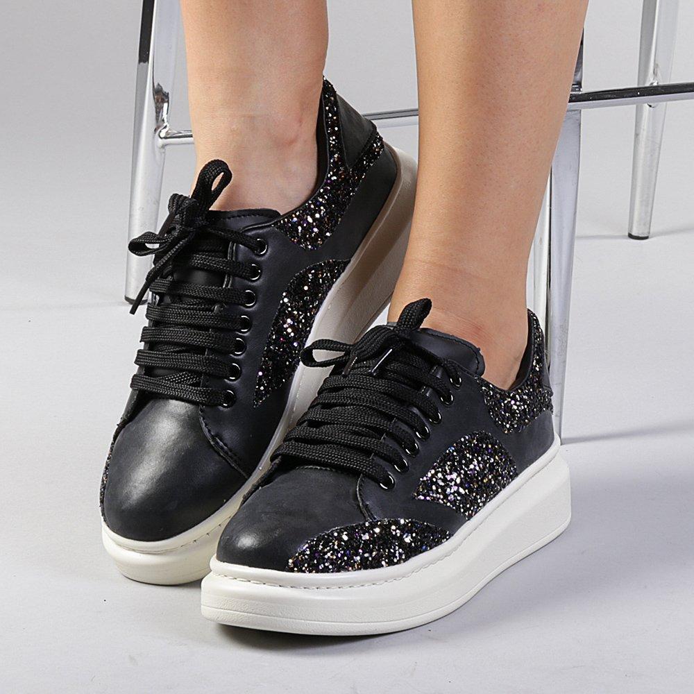 Pantofi sport dama Elvira negri