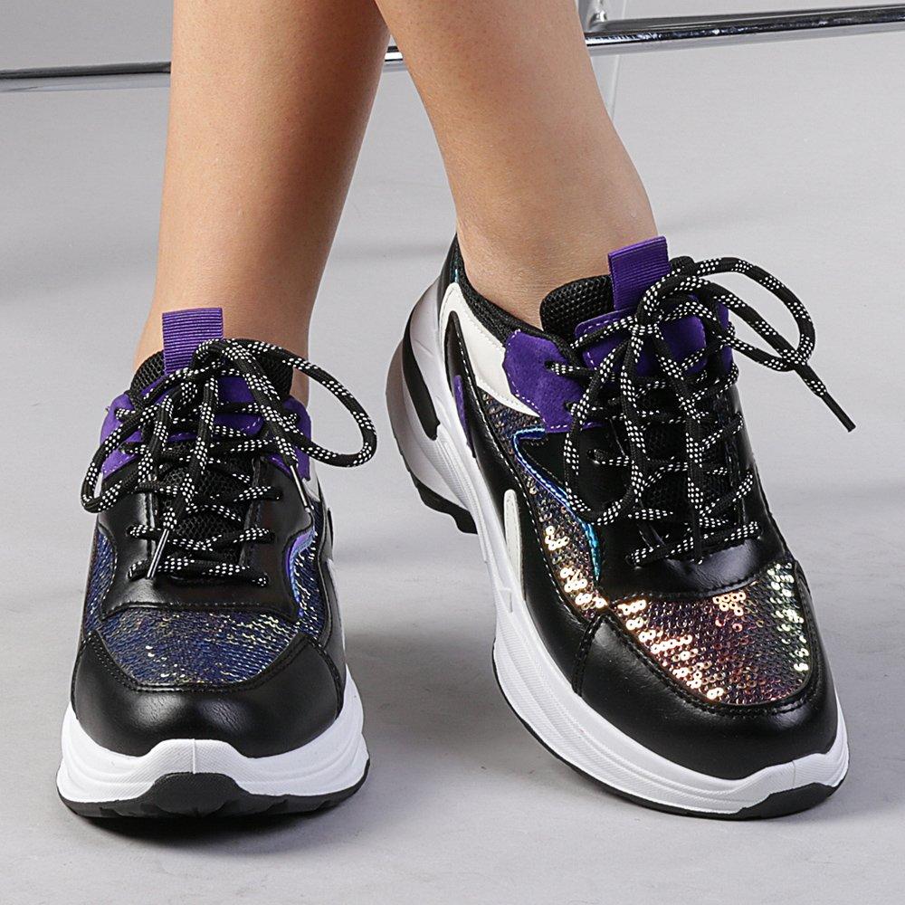 Pantofi sport dama Eduarda negri