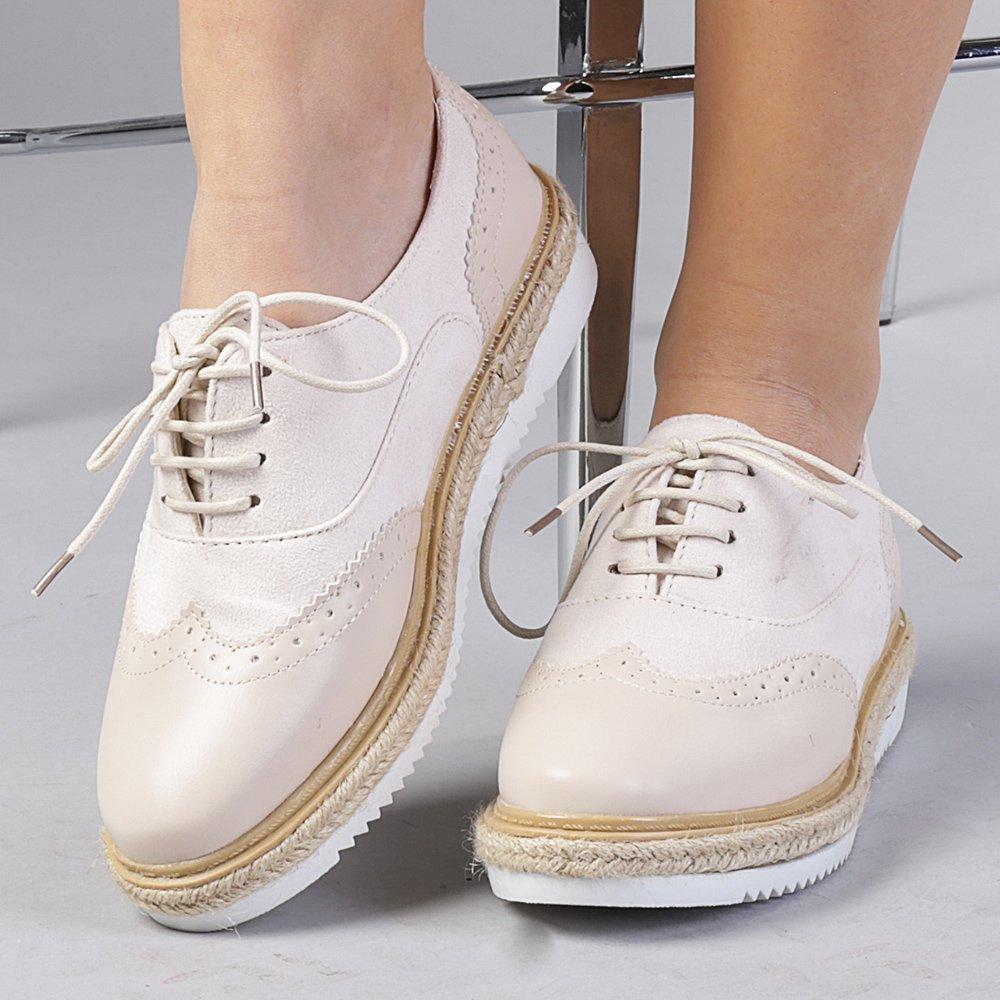 Pantofi Casual Dama Dochia Apricot