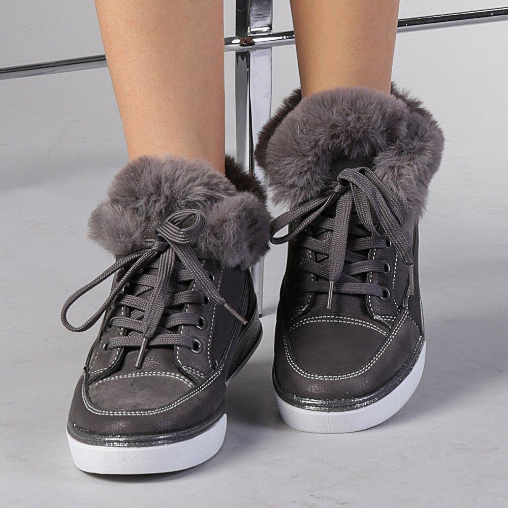 Pantofi sport dama Salomea gri