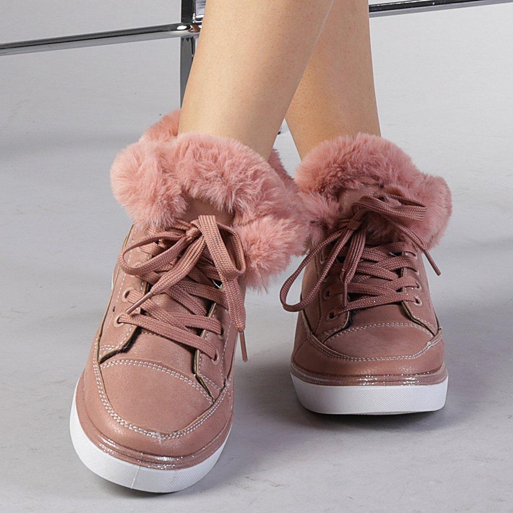 Pantofi sport dama Salomea roz