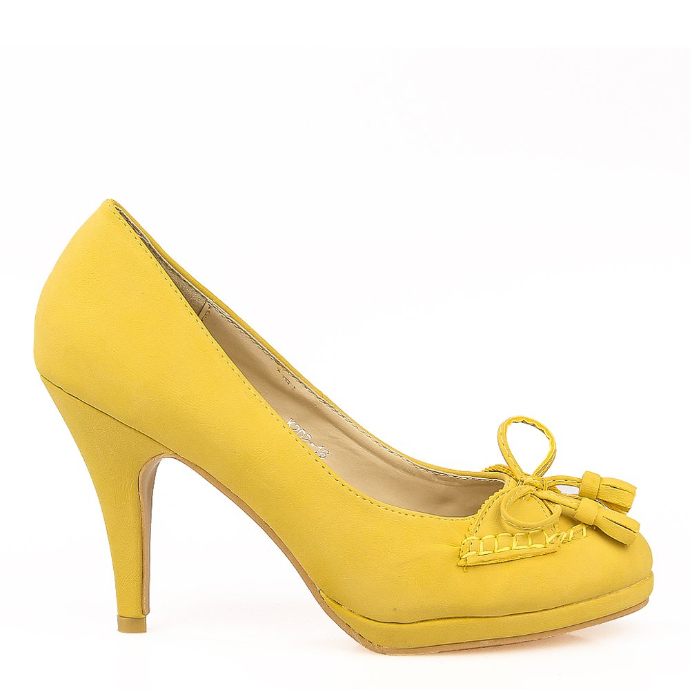 Pantofi dama galbeni Hayden