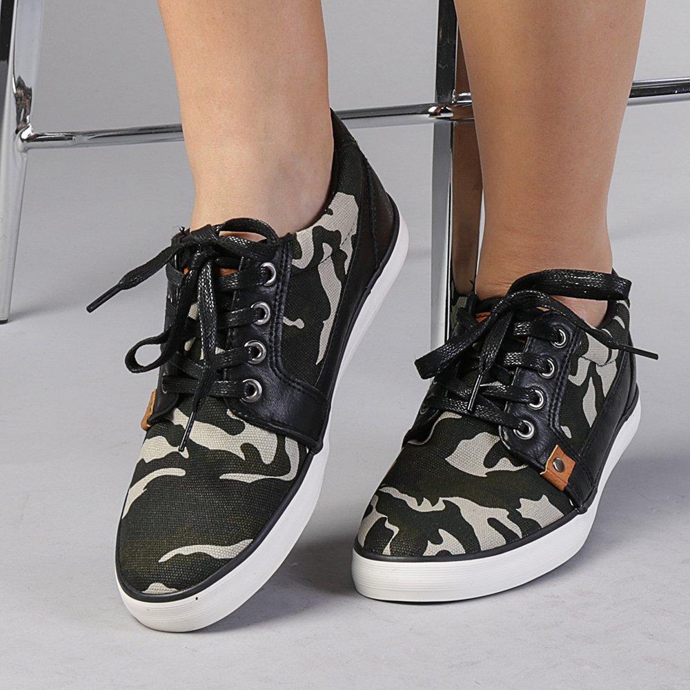 Pantofi sport unisex verde army