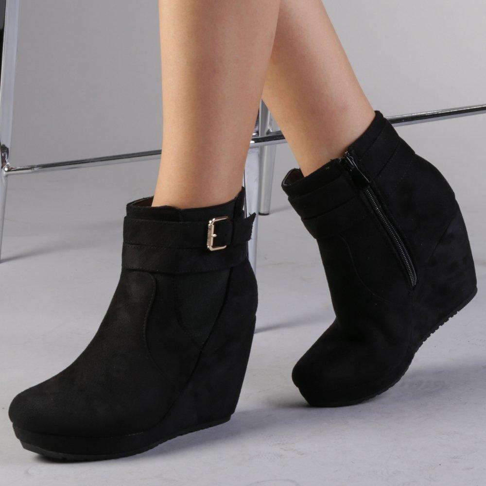 Γυναικεία μπότινια Nana μαύρα